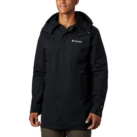 Columbia East Park Mackintosh Chaqueta Hombre, black